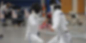 Fencing video image